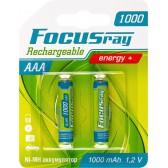 Аккумулятор FOCUSray ААА 1000mAh