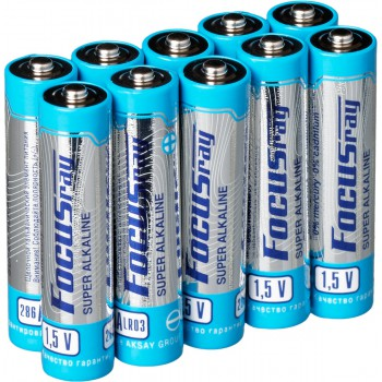 Батарейка щелочная FOCUSray SUPER ALKALINE LR03/S10