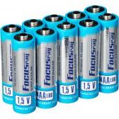 Батарейка щелочная FOCUSray SUPER ALKALINE LR6/S10