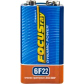 Батарейка солевая FOCUSray DYNAMIC POWER 6F22/S1
