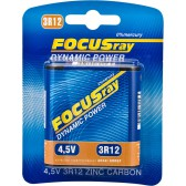 Батарейка солевая FOCUSray DYNAMIC POWER 3R12/BL1