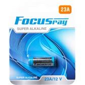 Батарейка щелочная FOCUSray SUPER ALKALINE 23A/BL1