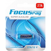 Батарейка щелочная FOCUSray SUPER ALKALINE 27A/BL1