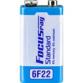 Батарейка солевая FOCUSray STANDARD 6F22/S1