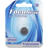 Батарейка литиевая FOCUSray LITHIUM CR1632