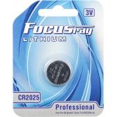 Батарейка литиевая FOCUSray LITHIUM CR2025