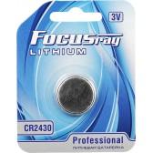 Батарейка литиевая FOCUSray LITHIUM CR2430