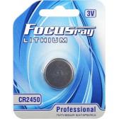 Батарейка литиевая FOCUSray LITHIUM CR2450