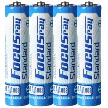 Батарейка солевая FOCUSray STANDARD R03/S4