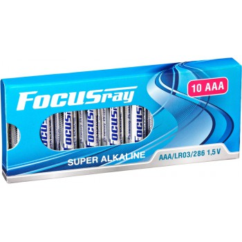 Батарейка щелочная FOCUSray SUPER ALKALINE LR03/10 BOX