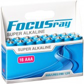 Батарейка щелочная FOCUSray SUPER ALKALINE LR03/BL16